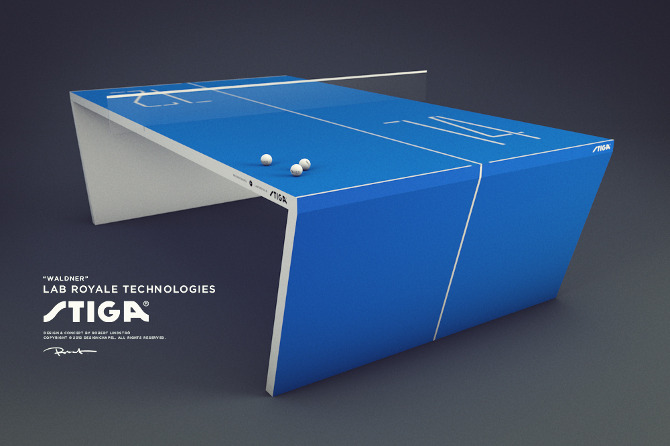 """Waldner"" – the next generation ping pong table"